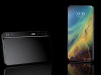 Новый горизонтальный слайдер ZTE Axon S представили на рендерах - изображение
