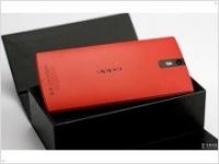 Красный в моде: анонс смартфона Oppo Find 5 в красном цветовом варианте - изображение