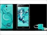 Япона-мать: анонс Sony Xperia A в стиле Hatsune Mike - изображение