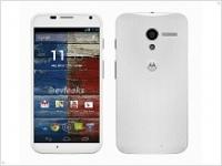 Подпольные фотографии белоснежного смартфона Motorola Moto X - изображение