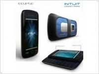 Концепт-телефон Eclipse Intuit работает на солнечной энергии - изображение