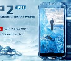 Смартфон Oukitel WP2 получил аккумулятор на 10000 мАч и ценник в 260 USD