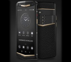 Фешенебельное возвращение Vertu: в Китае анонсирован смартфон Aster P