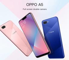 Новинка OPPO A5 2020: устройство с 4 камерами и большим аккумулятором
