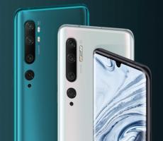 Представлены новые  Xiaomi Mi Note 10 и Mi Note 10 Pro: смартфоны с 108-МП