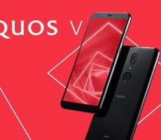 Выпущен новый смартфон Sharp AQUOS V, но на старом процессоре