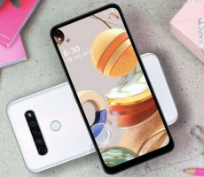 LG выпустила новенький аппарат LG Q61