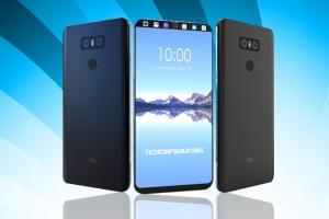 31 августа LG анонсирует выход своего нового флагмана - смартфон V30 с экраном - изображение