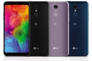 Устройство LG Q7 с дисплеем HD+ FullVision дебютировало в 3 версиях - изображение
