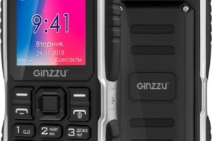 Защитный смартфон Ginzzu R70 получил технологию PowerBank и фонарик-стробоскоп - изображение