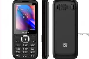 Новинка teXet TM-D325 – обычная звонилка с мощной батарейкой - изображение