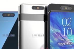 Новинка Galaxy A90 станет первым смартфоном Samsung, которая получит выдвижную... - изображение