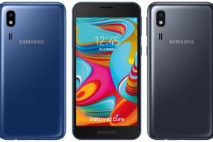 Ультрабюджетный Samsung Galaxy A2 Core выпущен для рынка Индии - изображение
