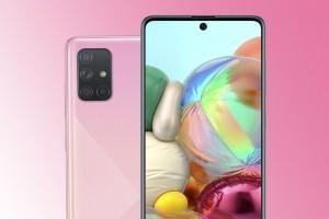 Смартфон Samsung Galaxy A71: дисплей Infinity-O, квадрокамера и процессор Snapdragon 730 - изображение