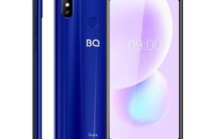 BQ 6022G Aura: большой смартфон, но с низким разрешением - изображение