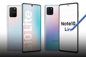 Новые устройства от Samsung для флагманских линеек: Galaxy S10 Lite и Galaxy Note10 Lite - изображение