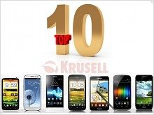 The most popular smartphones in August 2012 according to Krusell - изображение