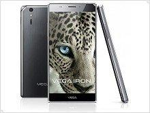 Announced a smartphone Pantech Vega Iron - изображение