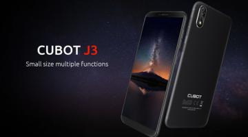 Смартфон Cubot J3 получил бюджетный ценник и систему распознавания... - изображение