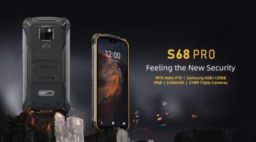 Представлен новый «защищенный» Doogee S68 Pro - изображение