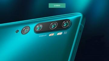 В продажу поступил новый смартфон с 108-МП пентакамерой  Xiaomi Mi CC9 Pro - изображение