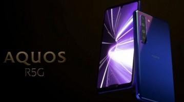 Sharp Aquos R5G: смартфон с экраном Pro IGZO и работой в 5G-сетях - изображение