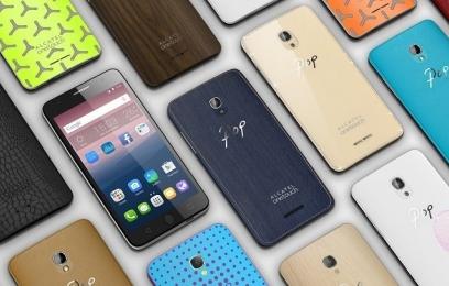 Alcatel OneTouch Pop Up и Alcatel OneTouch Pop Star – смартфоны со стильным оформлением  - изображение