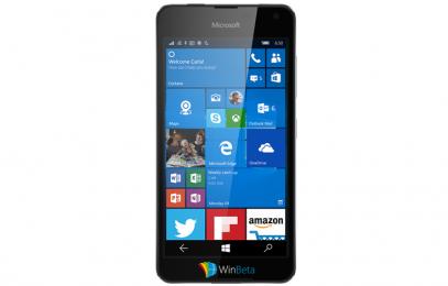 Microsoft Lumia 650 – опубликовано фото предстоящего смартфона  - изображение