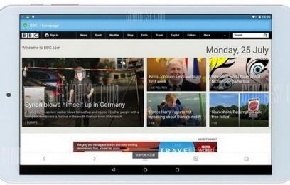 Золотой планшет Onda V80 Plus на двух операционных системах - изображение
