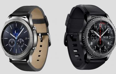 Смарт-часы Samsung Gear S3 Classic и Samsung Gear S3 Frontier с поддержкой LTE  - изображение