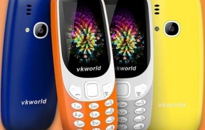 Vkworld Z3310 - кнопочный телефон стоимостью 25 долларов - изображение