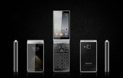 Смартфон Vkworld T2 Plus получит 2 дисплея и корпус из титана  - изображение