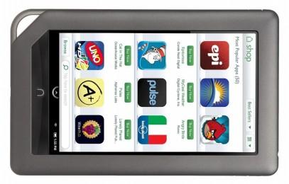 Презентация планшета Barnes&Noble Nook Table 10: загадочная новинка за 130 долларов - изображение