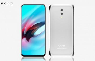 Новинка Vivo APEX 2019: первый в мире аппарат без отверстий и кнопок на базе Snapdragon... - изображение