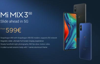 Анонс нового Xiaomi Mi Mix 3 5G - изображение