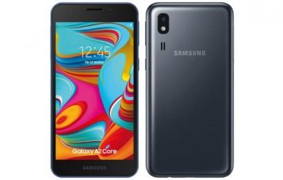 Раскрыты подробности бюджетного смартфона Samsung Galaxy A2 Core: 5-дюймовый дисплей - изображение