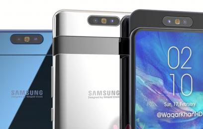 Новинка Galaxy A90 станет первым смартфоном Samsung, которая получит выдвижную - изображение
