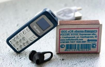 Olmio A02 – ультра маленький мобильник - изображение