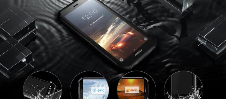 Новинка Doogee S40: с защитой и поддержкой NFC и стоимостью 90 долларов - изображение