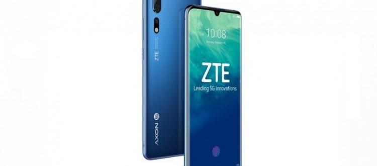 Смартфон ZTE Axon 10s Pro 5G с поддержкой Wi-Fi 6 - изображение