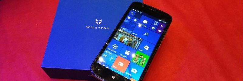 Смартфон Wileyfox Pro: посредственное ПО и операционка Windows 10 Mobile - изображение