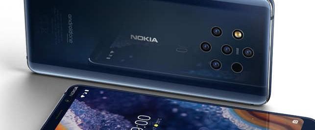 Новинку Nokia 9 PureView с пятью одинаковыми камерами представили на MWC-2019 - изображение