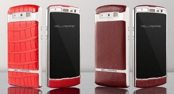 Bellperre Touch – смартфон класса люкс, обтянутый кожей буйвола или миссисипского - изображение