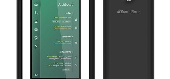 Archos GranitePhone – смартфон с антишпионской защитой  - изображение
