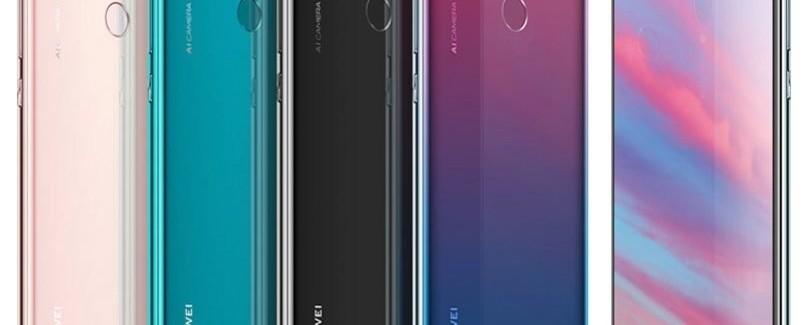 Huawei Enjoy 9: смартфон средней категории без сканера отпечатков пальцев - изображение