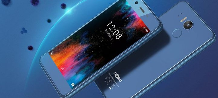 Новинка Nomu M8: антибактериальный смартфон - изображение