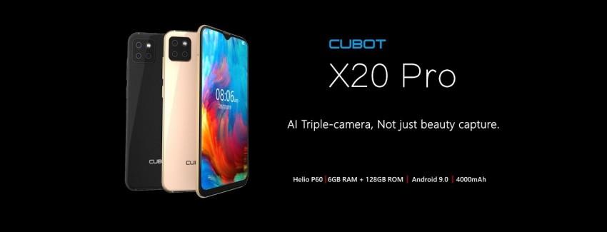 Смартфон Cubot X20: внешний вид и технические характеристики - изображение