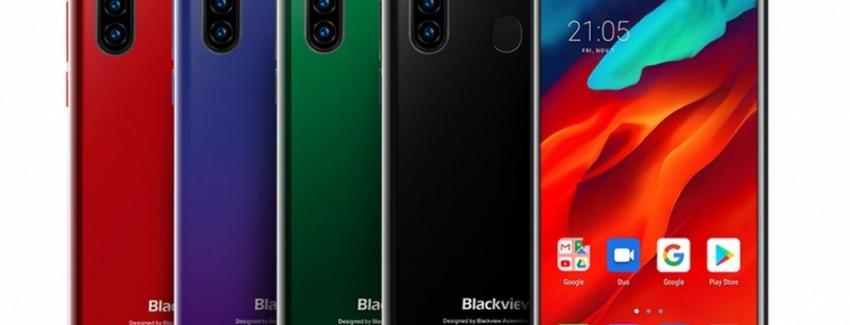 Новый мобильник с квадрокамерой бюджетного класса Blackview A80 Pro - изображение