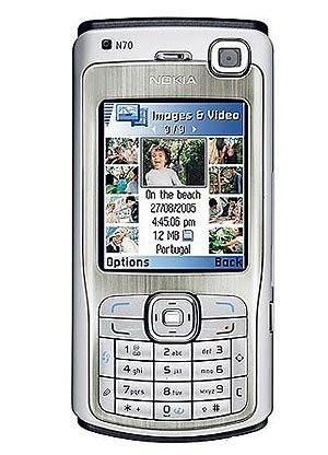 Фото Nokia N70