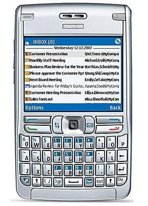 Фото Nokia E62